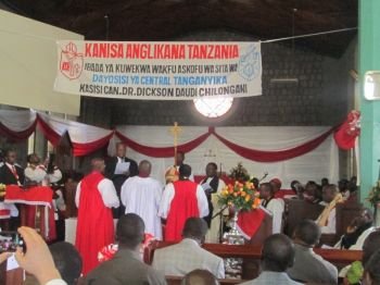Ordination and Consecration of Right Revd Dr Dickson Chilongani as Bishop of Central Tanganyika